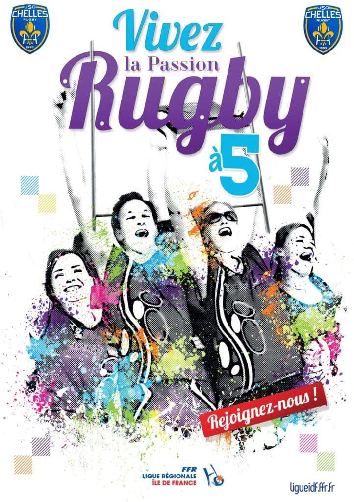 Le rugby à 5 - Chelles