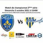 Match de championnat 2ème série 2021